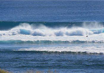 surfing location